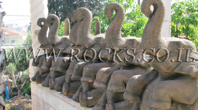 פילים יצוקים