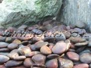 חלוקי נחל לגינה בכפר הסלעים מבית סלעים.קום