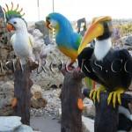 ציפורים יצוקות